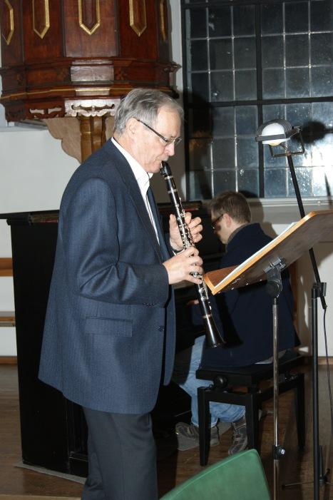 Gerold Schwarz an der Klarinette